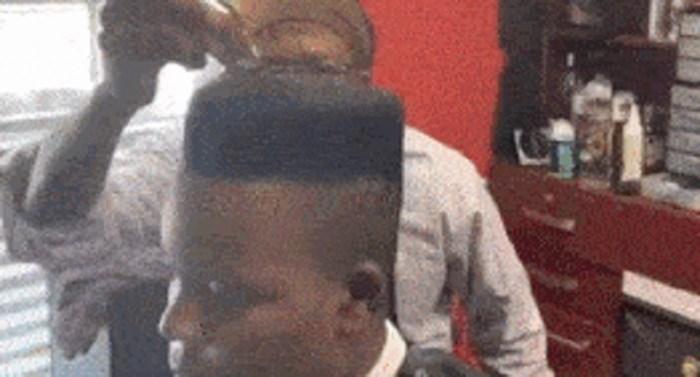 Ovaj frizer je totalno lud, pogledajte što radi