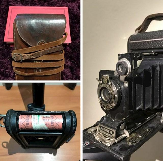 """""""Pronašao sam kameru koja je pripadala vojniku iz Prvog svjetskog rata. """""""