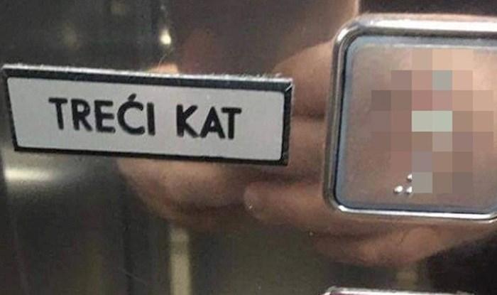 Morate vidjeti ovo dizalo u Dalmaciji, nikad ne znate na koji kat će vas odvesti