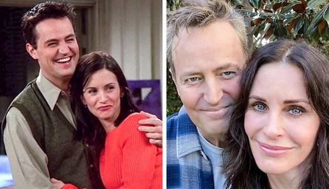 Matthew Perry i Courtney Cox