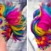 Frizer iz Australije kosu i bradu svojih klijenata pretvara u predivne duge