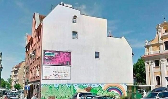 Ovaj mural nalazi se u Poljskoj, a pretvorio je običnu zgradu u predivan prizor iz bajke