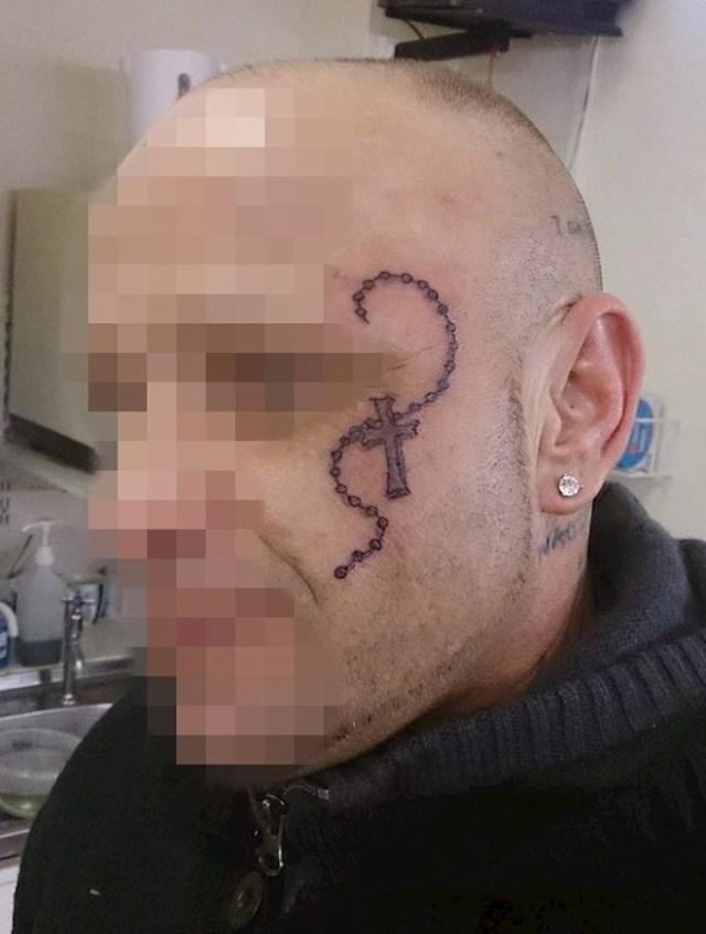 Tetovaže na licu
