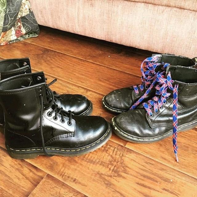 """Moja žena si je napokon kupila nove """"stare"""" čizme!"""""""