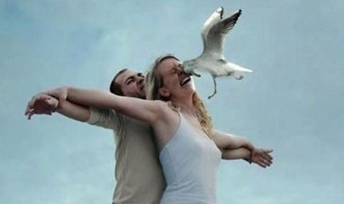 Ovaj par je glumio scenu iz Titanica i to izgleda ovako. A to nije najsmješnija slika u ovoj galeriji