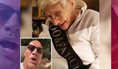 VIDEO Glumac Dwayne The Rock Johnson pjesmom čestitao rođendan stogodišnjoj obožavateljici