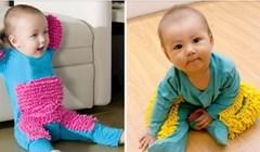 Na internetu je moguće kupiti odijelce kojim beba puzajući briše pod. Biste li svojoj bebi ovo obukli?