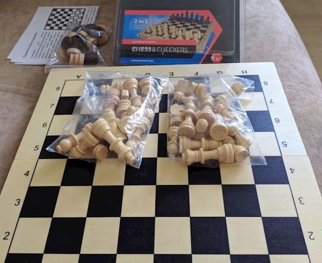 """""""Kupio sam ovaj šah, kako bi se on trebao igrati?!"""""""