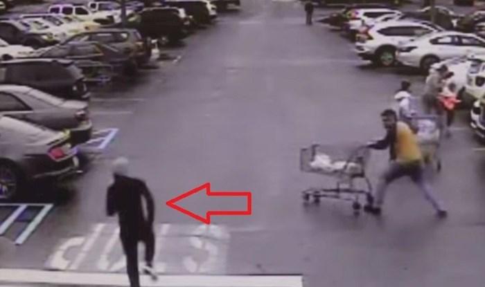 Lopova u bijegu zaustavio je kupac na nevjerojatan način
