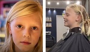 U školi su mu se rugali zbog duge kose, nakon 18 mjeseci otkrio je razlog puštanja kose