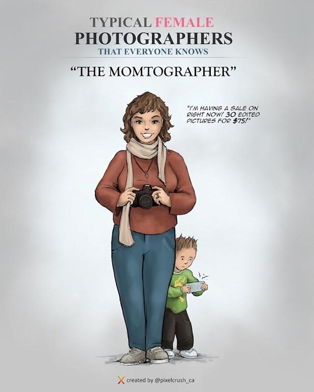 Fotografkinja koja će vjerojatno povesti djecu na slikanje