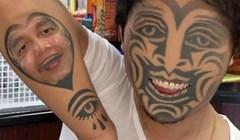 Ljudi koriste aplikaciju za zamjenu lica sa svojim tetovažama, fotke su prilično zastrašujuće