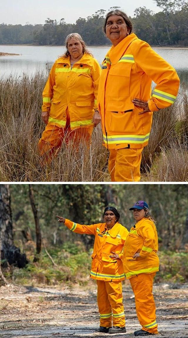 Žene australskih plemena pridružile su se vatrogasnim brigadama i rade 24/7 na zaštiti svoje zemlje.