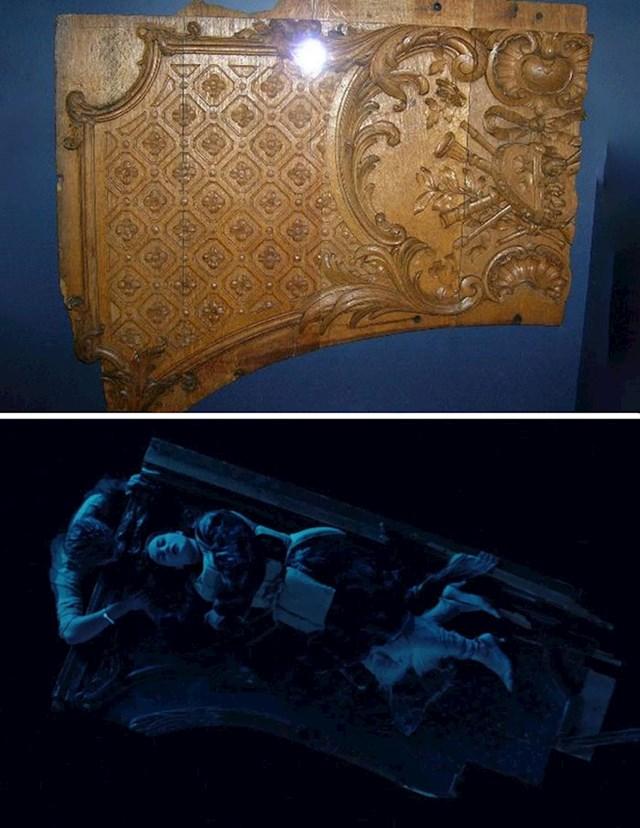 Legendarna daska na kojoj je bilo još mjesta je replika komada opreme s Titanica