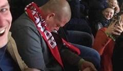 Zaspao je na utakmici i ubrzo mu se cijela tribina smijala