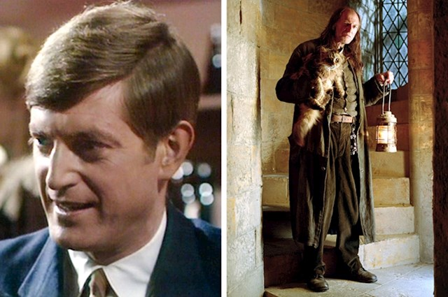 Argus Filch, David Bradley