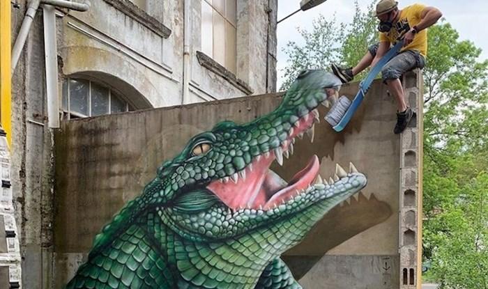 Francuski umjetnik putuje po svijetu i dosadnim ulicama udiše život svojim 3D grafitima