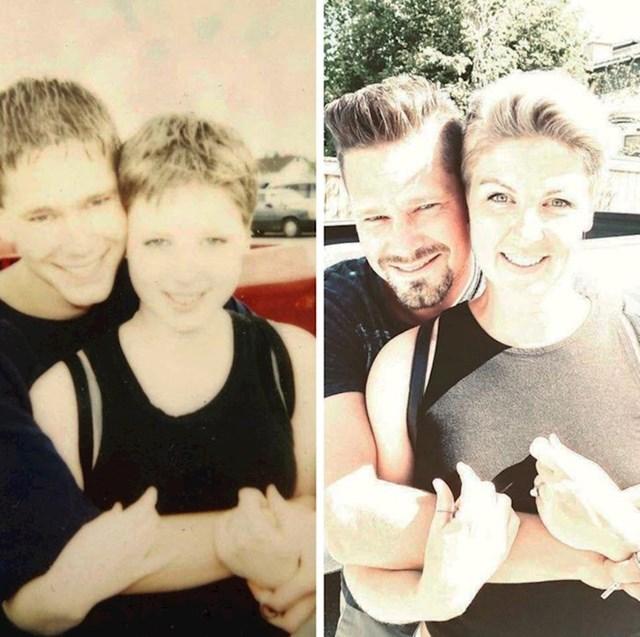 """""""Između ove dvije slike su 22 godine. Još uvijek je ljubav mog života"""""""