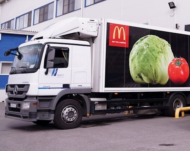 McDonald's restorani koriste staro ulje od pečenja kao goivo za kamione.