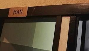 Gosti ovoga lokala pukli su od smijeha kada su vidjeli oznaku na toaletu