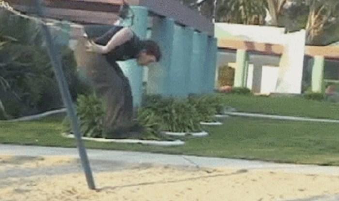 Kad starci umisle da u još uvijek djeca - pokušavao je napraviti salto i samo se osramotio