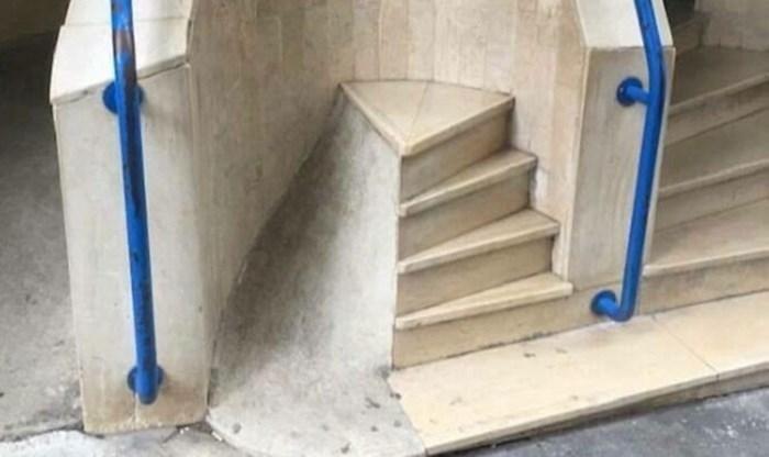 Stepenice koje nemaju nikakvu svrhu, a na nekima možete i slomiti nogu