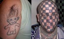 Užasne tetovaže zbog kojih će vam se pojaviti upitnici iznad glave