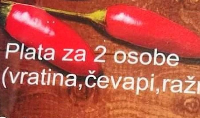 Morate vidjeti kako je ovaj ugostiteljski objekt preveo jelovnik na engleski jezik