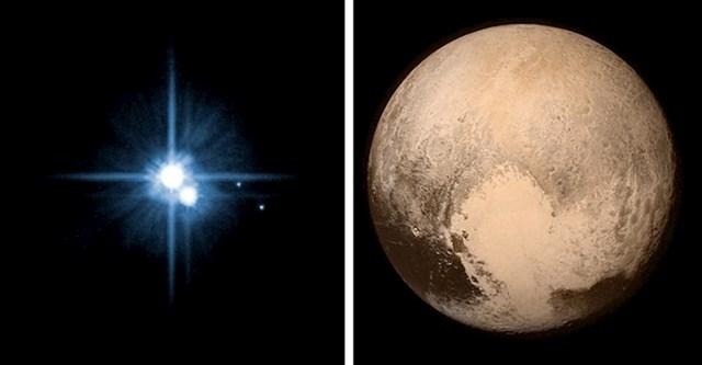 Koliko je tehnologija napredovala možemo vidjeli u ovim slikama Plutona