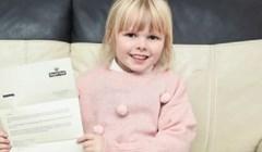 Djevojčica je poslala čestitku za rođendan tati u nebo, dobila je odgovor u kojem je pisalo da je pismo sretno stiglo