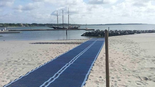 Put do plaže za osobe u invalidskim kolicima