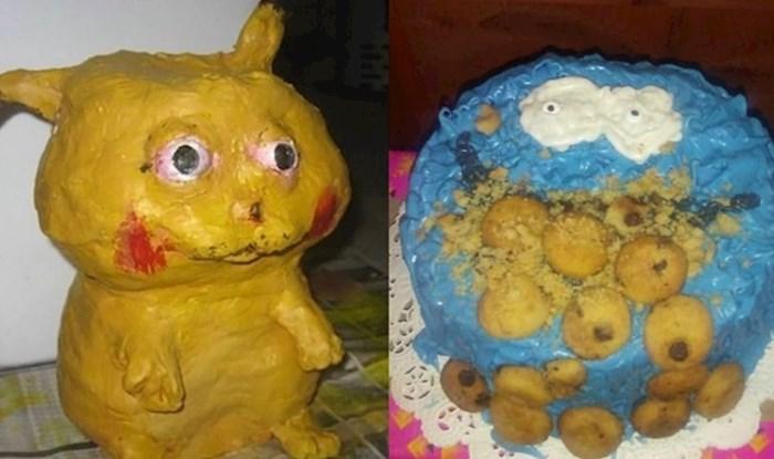 Najružnije torte koje je netko ispekao, valjda okus nije bio toliko užasan