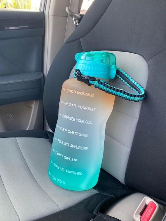 Uz ovu bocu nikad ne bi zaboravili popiti dnevnu dozu vode