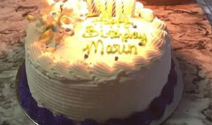 Djevojčica je slavila rođendan, tata je učinio nešto zbog čega je sve moglo katastrofalno završi