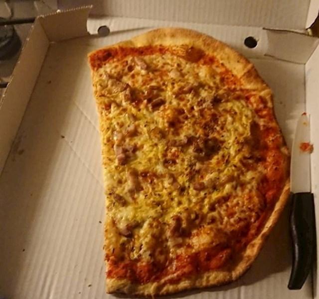 """""""Muž ovako reže pizzu..."""""""