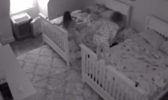 Kamera u dječjoj sobi snimila je urnebesnu scenu, roditelji nisu znali bi li se smijali ili plakali