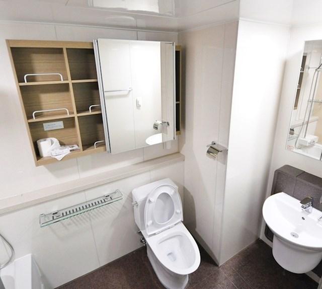 U 80 % kupaonica u Hong Kongu, morska voda je zamijenjena s pitkom
