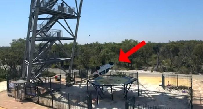 VIDEO Bacili su auto s 46 metara na najveći trampolin na svijetu