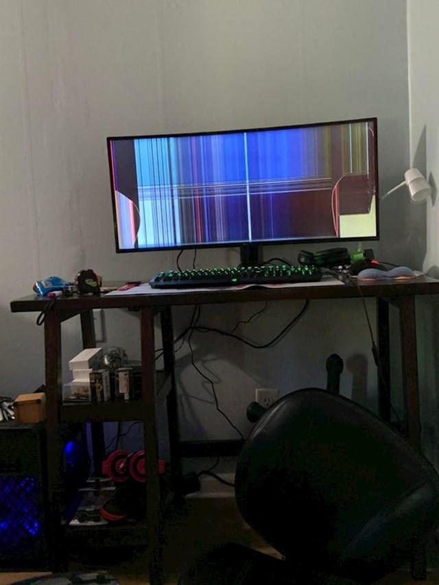 """""""Upravo sam postavio novi monitor..."""""""