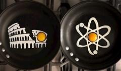 Umjetnik iz Meksika koristi tavu i jaja kako bi napravio doručak koji ne možete odbiti