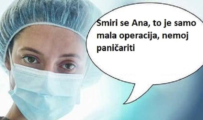 Kako izgleda najveća noćna mora svakog pacijenta na kirurškom stolu