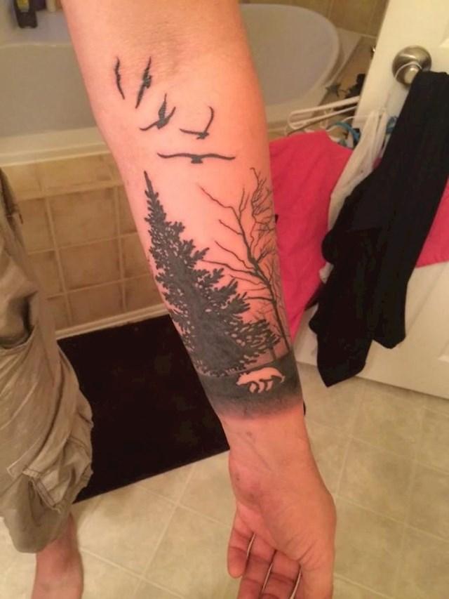Šume na rukama