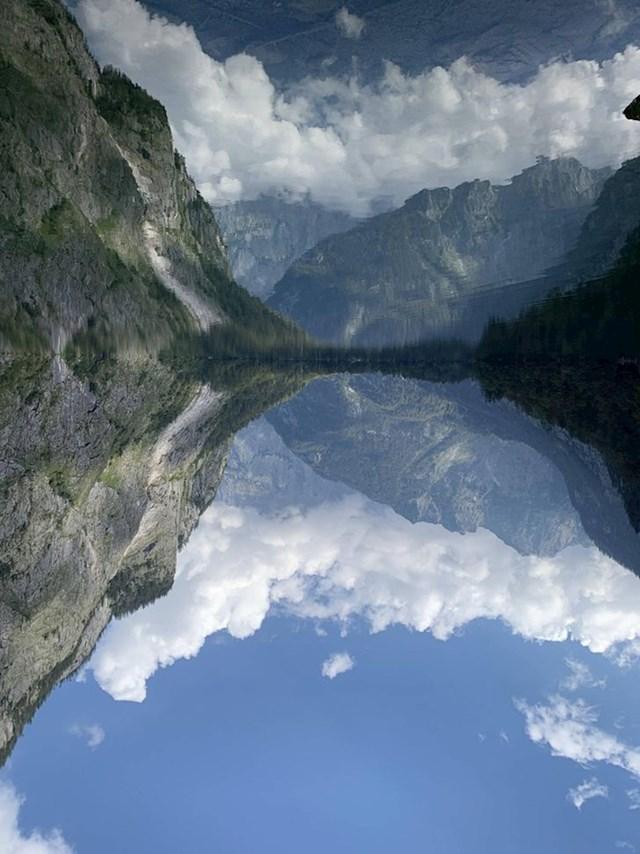 Jezero Obersee u Njemačkoj