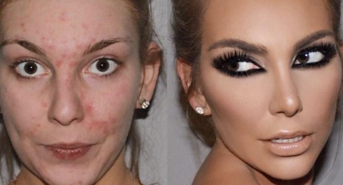 Ove žene podijelile su svoje fotografije sa i bez šminke, razlike će vas ostaviti bez teksta
