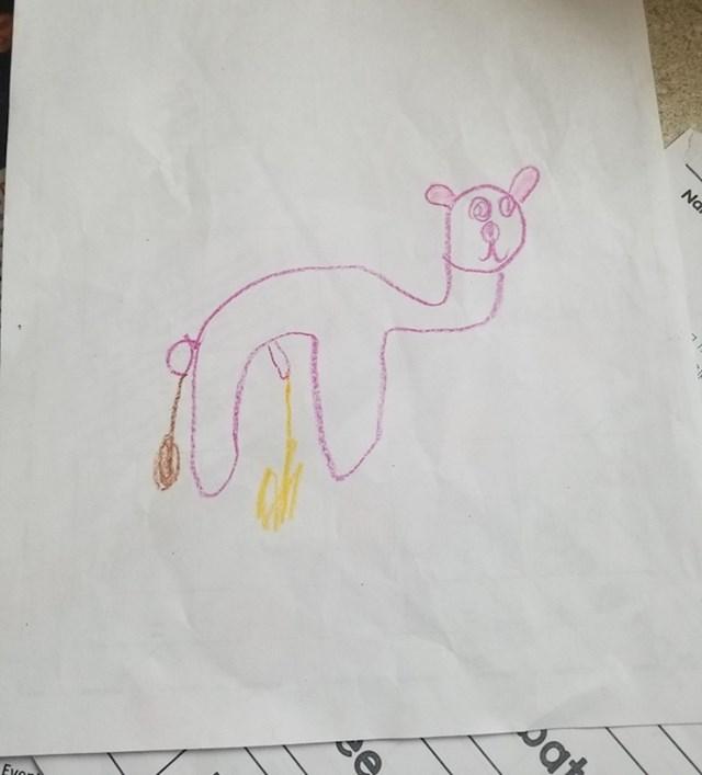 """""""Ovo je moja kćer nacrtala u školi..."""""""