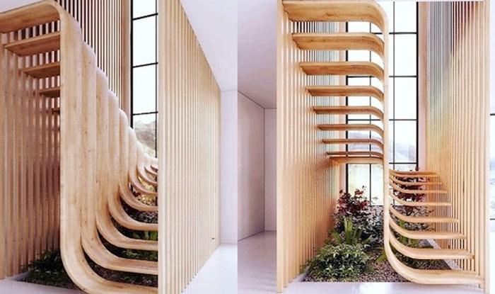 Ove minimalističke, ali raskošne stepenice podsjećaju na DNK i oduševljavaju cijeli internet