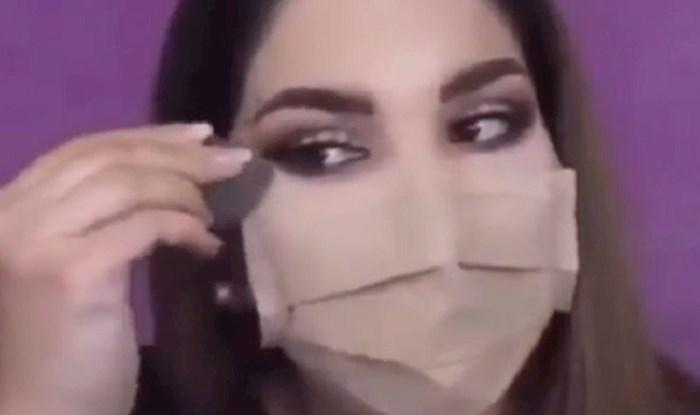 VIDEO Make up umjetnica pokazala je kako se našminkati dok nosite zaštitnu masku