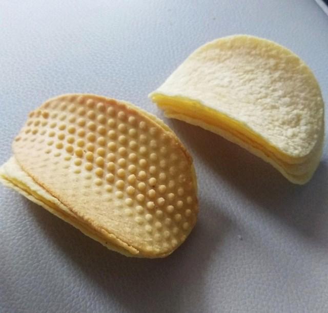 """Pronašao sam čudan Pringles čips..."""