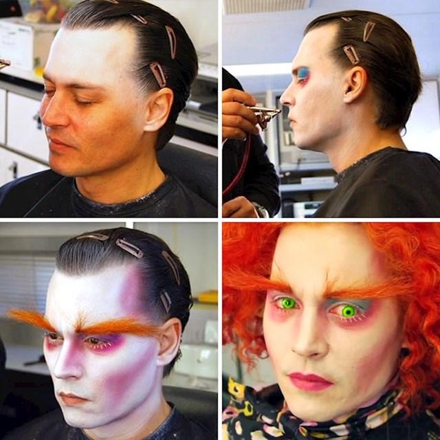Johnny Depp, Alice In Wonderland (Alisa u zemlji čudesa )
