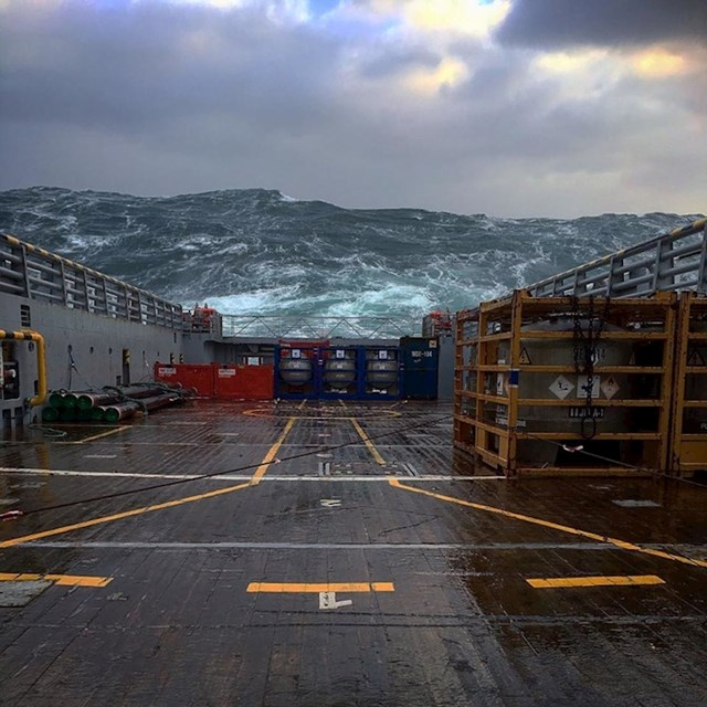 Valovi u Sjevernom moru